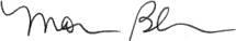 Monica's signature