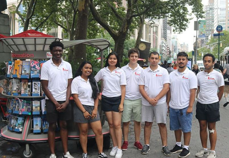 The Lincoln Square BID's Summer Information Ambassadors