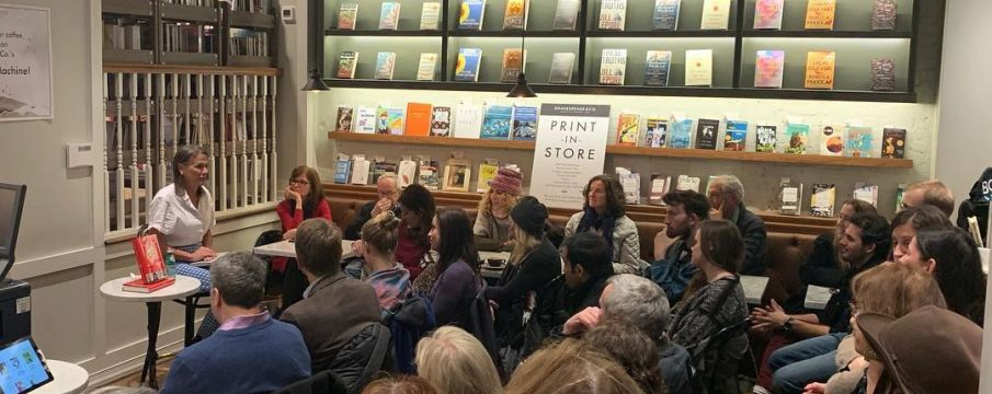 Book Clubs, Talks, and Launches at Shakespeare & Co.