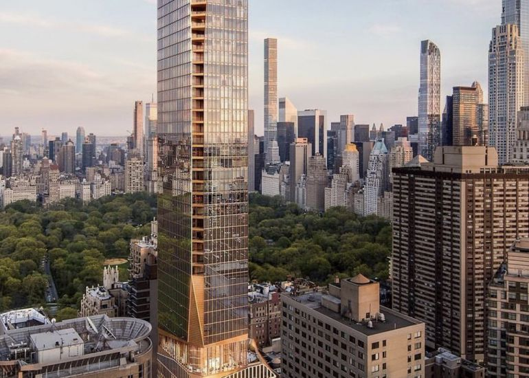 Construction Look Ahead for 50 West 66th Street Project 8.19.19