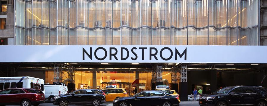 Outside of Nordstrom Flagship on 57th Street