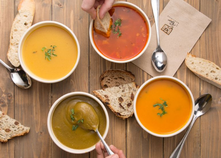 Soup's On: Soup Du Jour in Lincoln Square