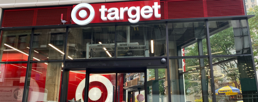 outside entrance of Target at 1863 Broadway from 61st Street