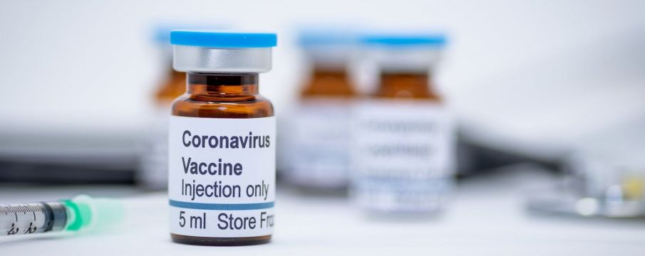 covid-19 vaccine in a bottle