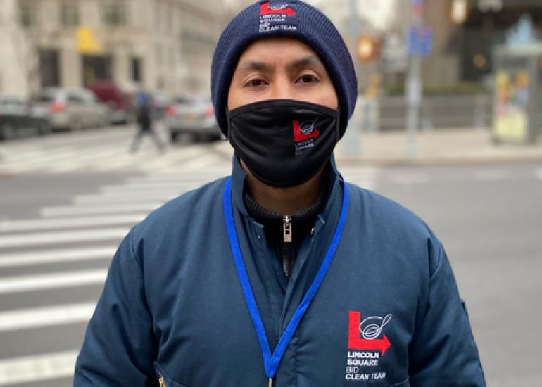 Meet Clean Team Supervisor Carlos Valladares