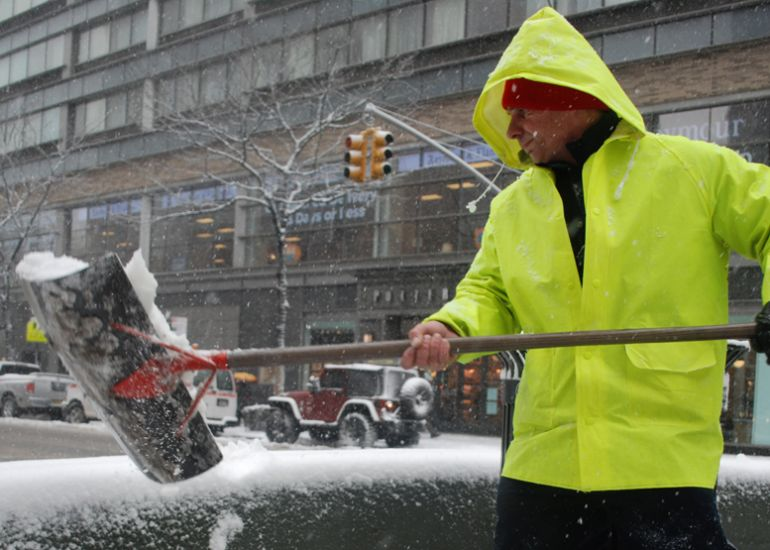 Blizzard Warning for Tuesday, March 14