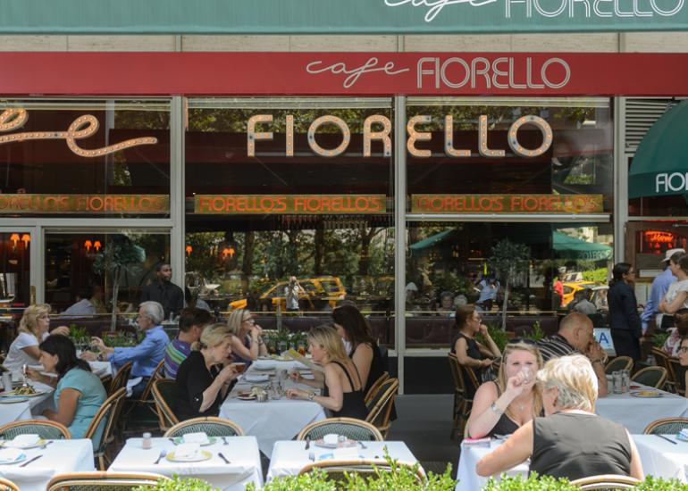 Cafe Fiorello is Open for Breakfast