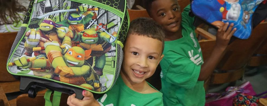 West Side YMCA's Build A Backpack Program