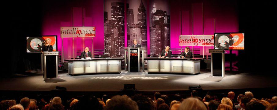 Intelligence Squared Debates at Merkin Concert Hall