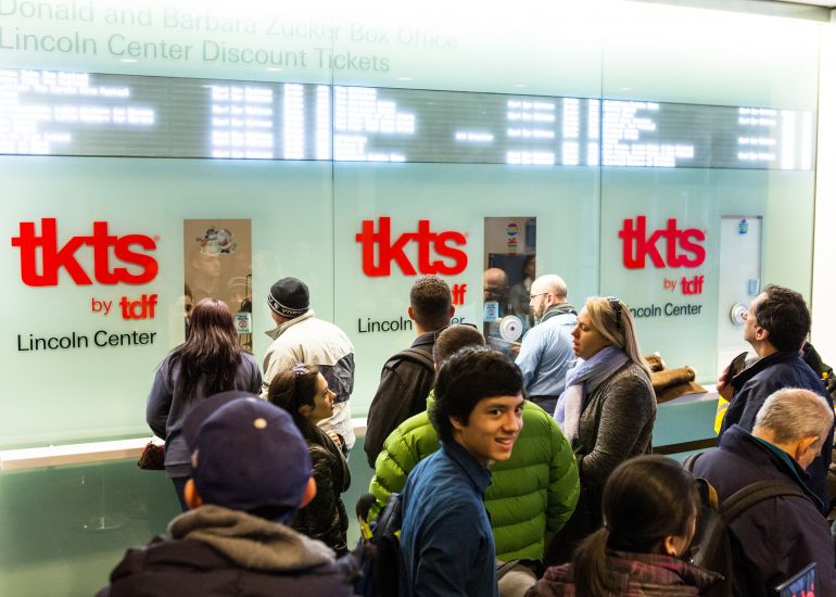 New Hours for TKTS Lincoln Center Booth