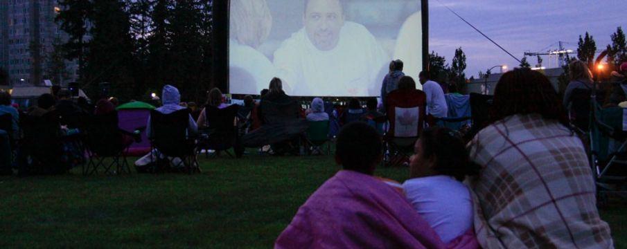 Movies Under the Stars!