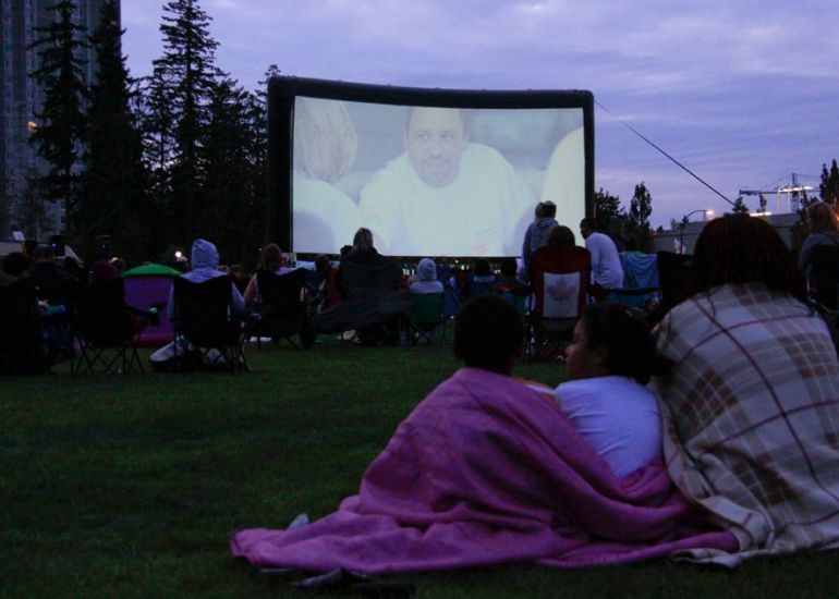 Movies Under the Stars!