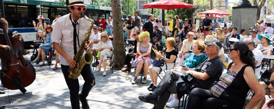 Lunchtime Concerts at Richard Tucker Park