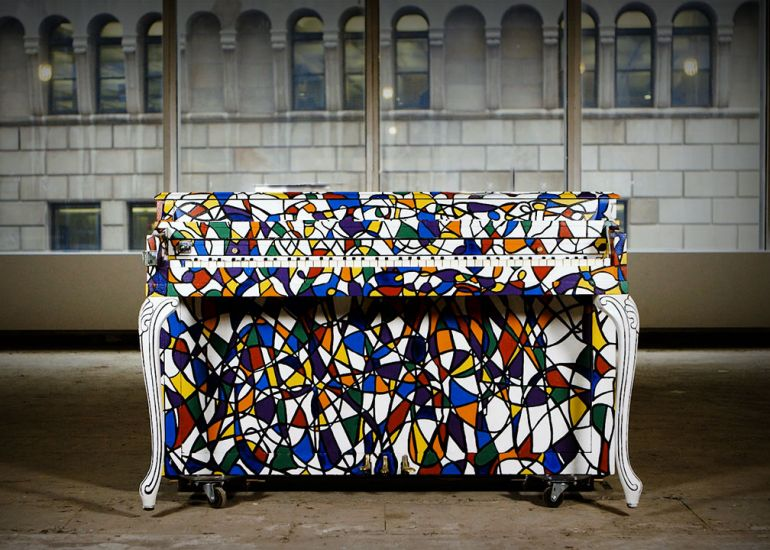 Sing for Hope Pianos Debut