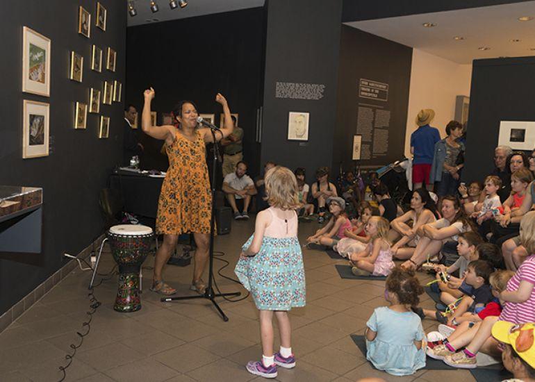Summer Saturday at the American Folk Art Museum