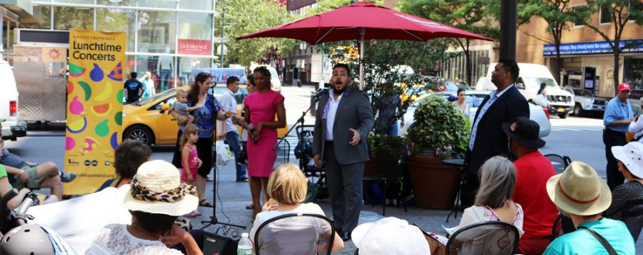 Two More Wednesdays of Free Lunchtime Concerts: 8.22.18 & 8.29.18