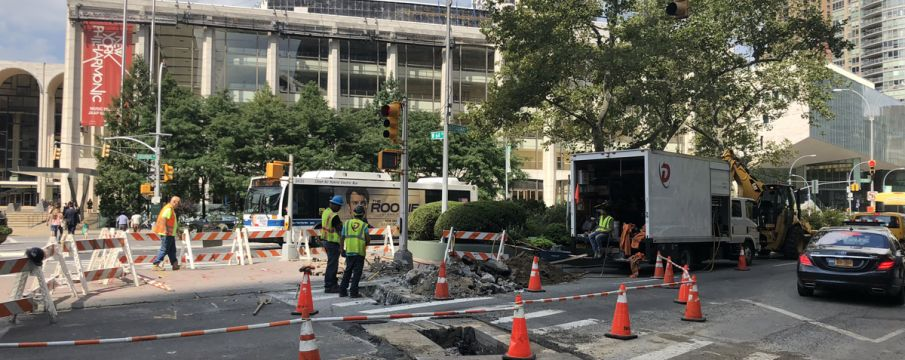 Con Edison Work at 64th Street