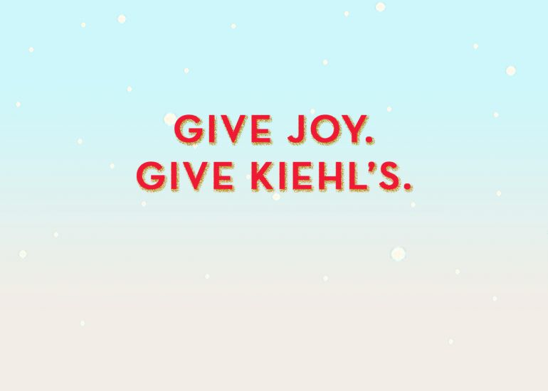 Office & Corporate Gift Giving with Kiehl's Since 1851