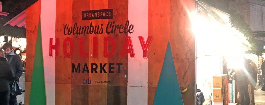Columbus Circle Holiday Market 2018